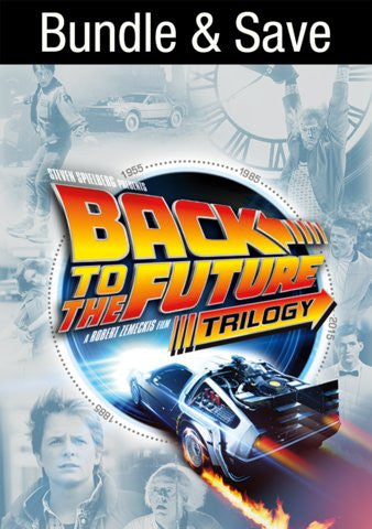 Back To The Future Trilogy HDX VUDU IW (Will Transfer to MA & iTunes)