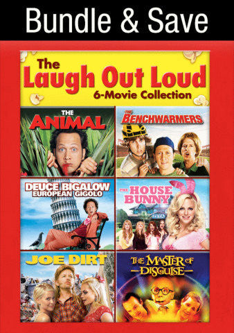 Laugh Out Loud 6-Movie Collection Vudu SD VUDU IW (Will Transfer to MA & iTunes)