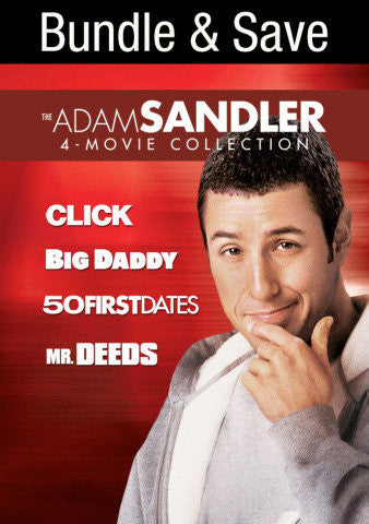 Adam Sandler 4-Movie Collection SD Vudu - Digital Movies