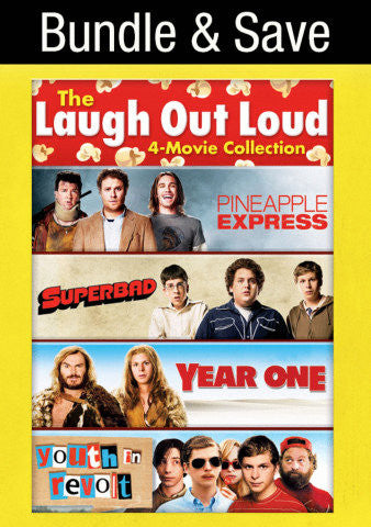 Laugh Out Loud 4-Movie Collection SD Vudu - Digital Movies