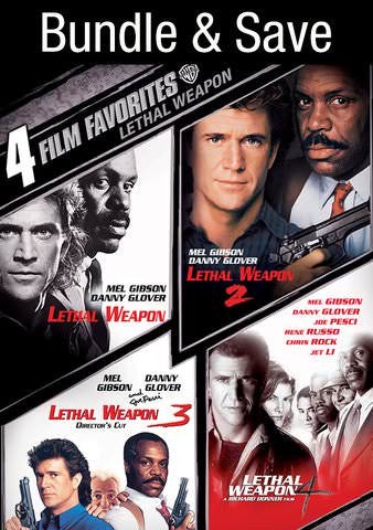 4 Film Favorites: Lethal Weapon SD UV/Vudu