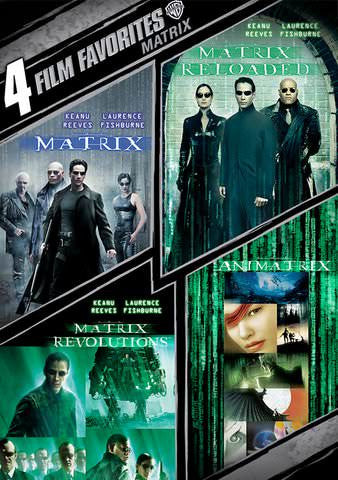 4 Film Favorites: Matrix Collection SD UV