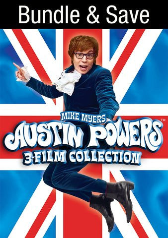 Austin Powers 3 Film Collection SD UV or iTunes via MA
