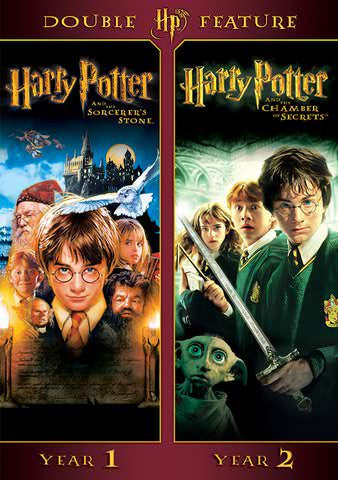 Harry Potter Double Feature: Year 1 and Year 2 SD UV