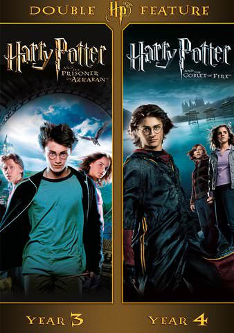Harry Potter Double Feature: Year 3 and Year 4 SD UV