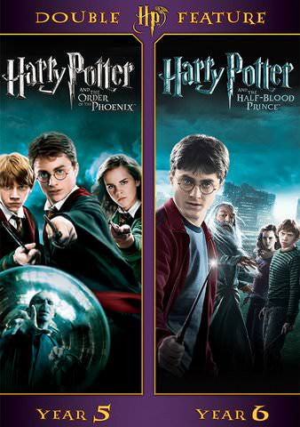 Harry Potter Double Feature: Year 5 and Year 6 SD UV