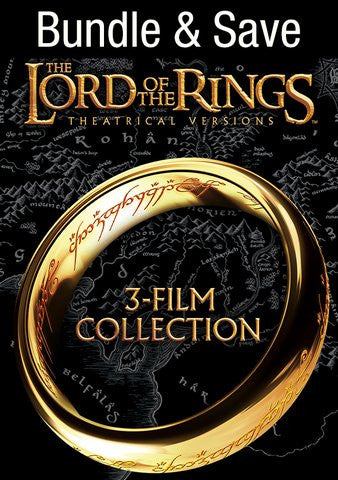Lord of the Rings Collection HDX Vudu or iTunes via MA