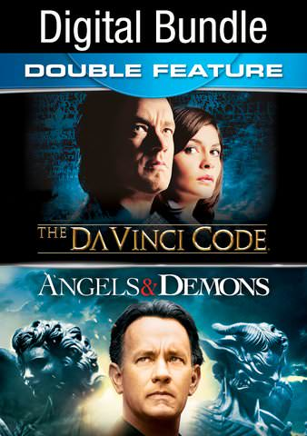 Angels and Demons & The Da Vinci Code Double Feature HDX VUDU IW (Will Transfer to MA & iTunes)