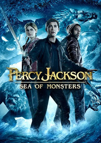 Percy Jackson: Sea Of Monsters SD XML iTunes (Must Know How to Redeem)
