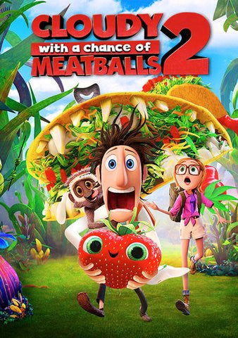 Cloudy With the Chance of Meatballs 2 HDX UV - Digital Movies