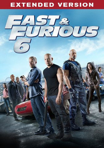 Fast & Furious 6 HDX UV Extended - Digital Movies