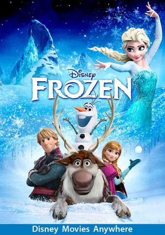 Frozen HDX Vudu, MA, iTunes, or Google Play