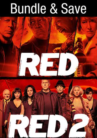 Red & Red 2 Double Feature HDX VUDU (IW)