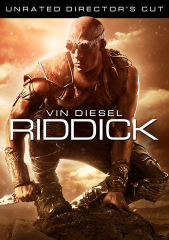 Riddick Unrated HDX UV - Digital Movies