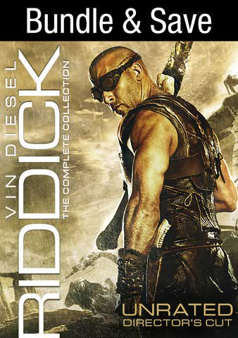 Riddick Collection Unrated HDX VUDU IW (Will Transfer to MA & iTunes)