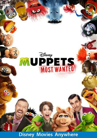 Muppets Most Wanted HDX VUDU - Digital Movies