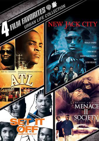 4 Film Favorites: Urban Life Vol. 1 SD UV/Vudu - Digital Movies