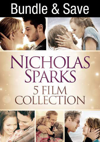 Nicholas Sparks Collection SD UV or iTunes via MA