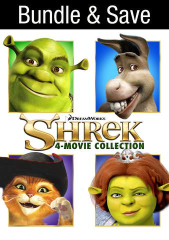 Shrek: 4 Movie Bundle  HDX VUDU IW (Will Transfer to MA & iTunes)