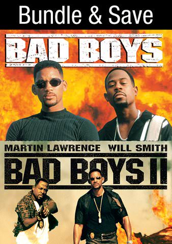 Bad Boys & Bad Boys II HDX VUDU IW (Will Transfer to MA & iTunes)
