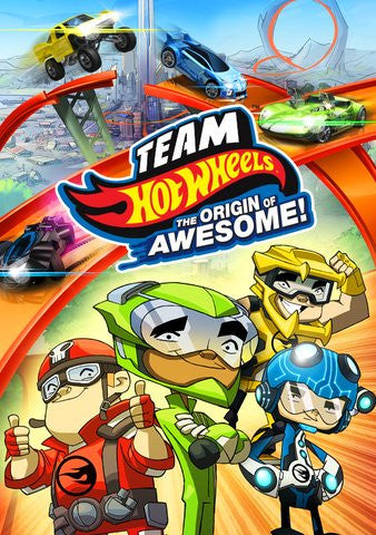Team Hot Wheels: The Origin of Awesome! HDX UV - Digital Movies