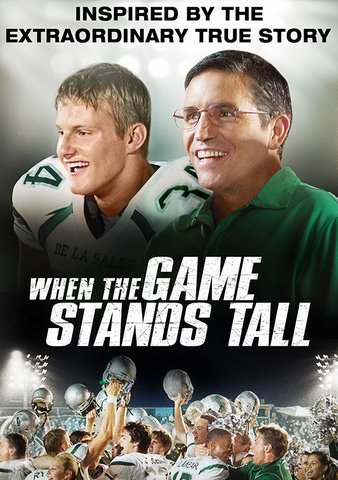 When the Game Stands Tall SD UV or iTunes via MA