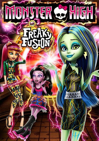 Monster High: Freaky Fusion HDX UV - Digital Movies