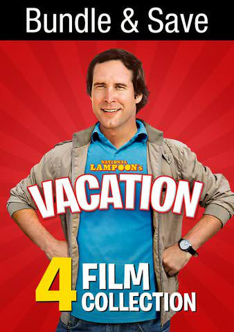 National Lampoon's Vacation 4 Film Collection SD UV/Vudu