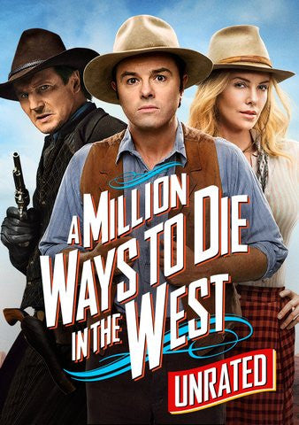 Million Ways to Die in the West Unrated HDX UV - Digital Movies