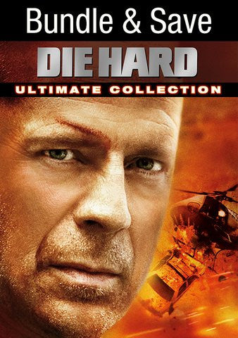 Die Hard 4-Film Collection SD UV/VUDU - Digital Movies