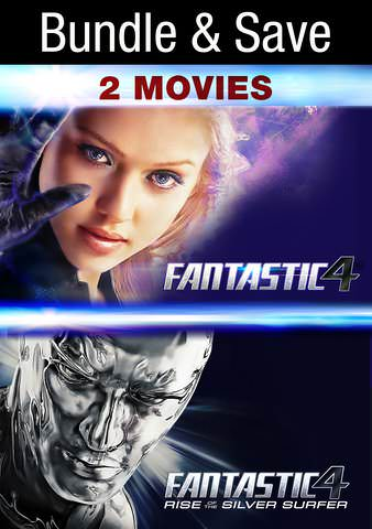 Fantastic Four Double Feature HDX VUDU IW (Will Transfer to MA & iTunes)