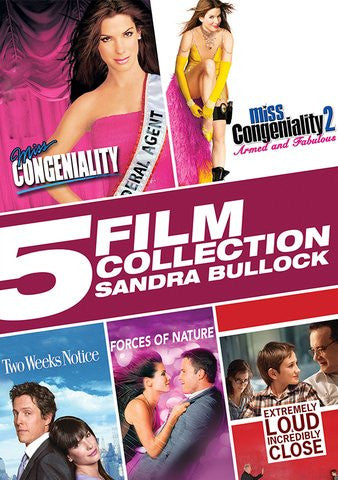 5 Film Collection Sandra Bullock SD UV/Vudu - Digital Movies