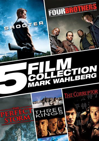 5 Film Collection Mark Wahlberg SD UV/Vudu