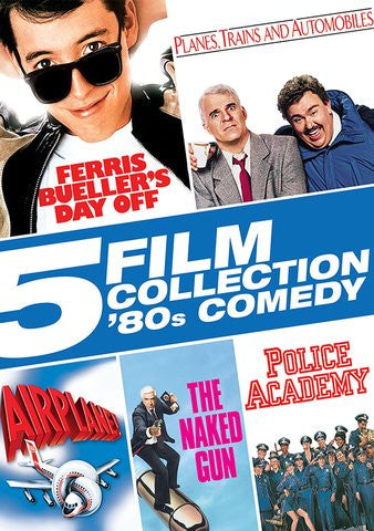 5 Film Collection: 80's Comedy SD UV/Vudu - Digital Movies