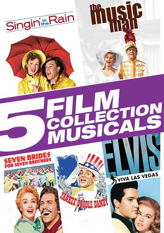 5 Film Collection: Musicals SD UV/Vudu