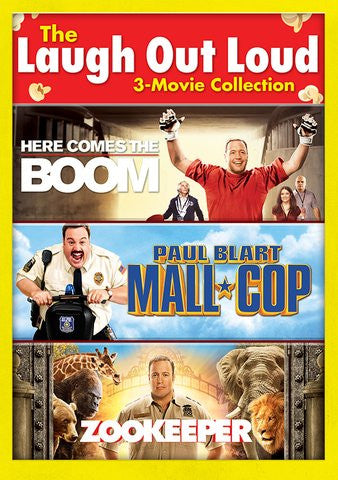 Here Comes the Boom, Paul Blart: Mall Cop, Zookeeper SD Vudu - Digital Movies