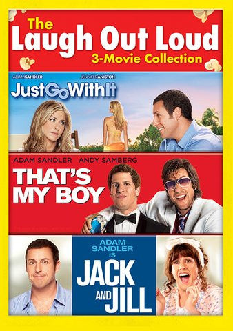 Jack & Jill, Just Go With It, That's My Boy SD Vudu - Digital Movies