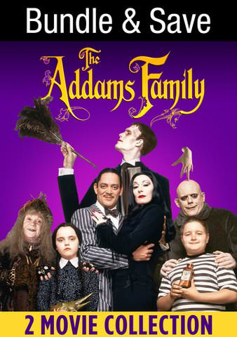 The Addams Family Double Feature HDX VUDU (IW)