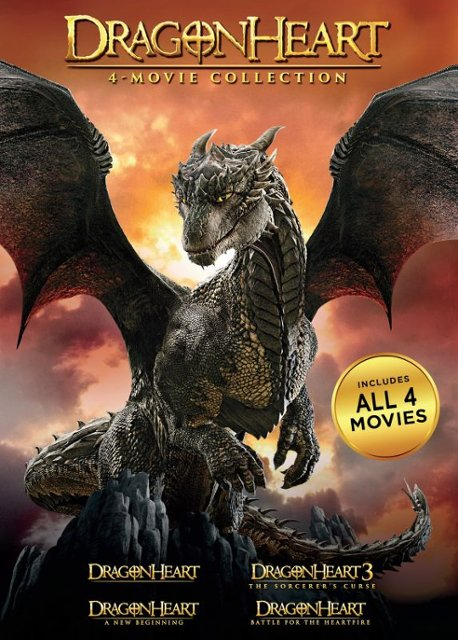 Dragonheart 4 Movie Collection SD VUDU IW (Will Transfer to MA & iTunes)