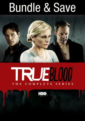 True Blood Complete Series (All seasons) HDX UV - Digital Movies