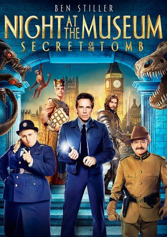 Night at the Museum: Secret of the Tomb HDX UV or 4K iTunes