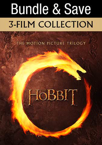 The Hobbit Trilogy: 3 Movie Collection HDX VUDU IW (Will Transfer to MA & iTunes)