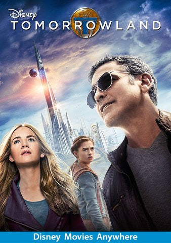 Tomorrowland HDX Vudu, MA, iTunes, or Google Play