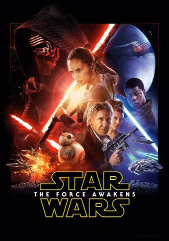Star Wars: The Force Awakens HDX Vudu, DMA, or iTunes