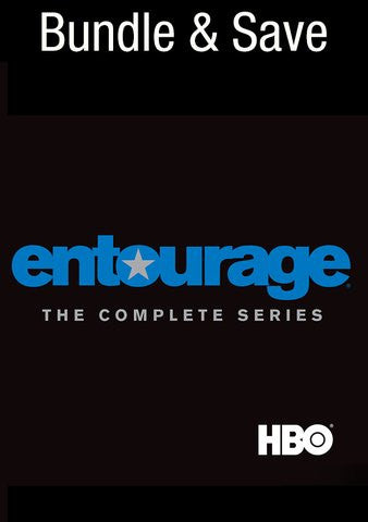Entourage Complete Series (All Seasons) HD Google Play - Digital Movies
