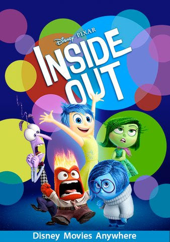 Inside Out HDX Vudu - Digital Movies