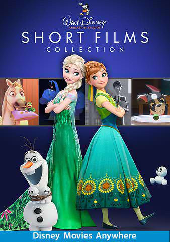 Disney Short Films Collection HDX Vudu, DMA, iTunes, or Google Play