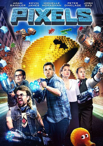Pixels HDX UV - Digital Movies