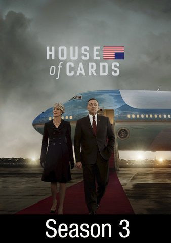 House of Cards season 3 HDX UV - Digital Movies