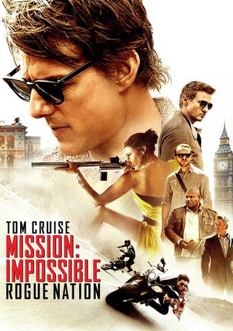 Mission Impossible Rogue Nation HD iTunes - Digital Movies